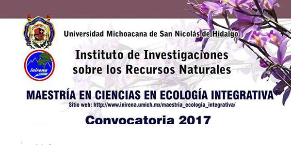 INIRENA maestría cienias ecología integrativa bnnR